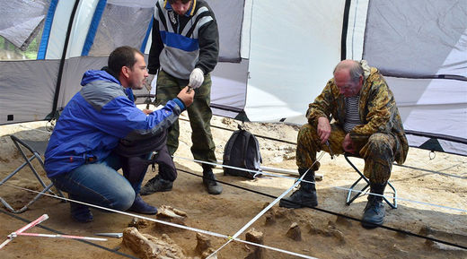Early New Stone Age burial mound unearthed in Siberia