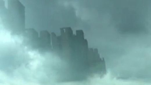 Fata Morgana? Mysterious mirage city appears in clouds over Foshan, China