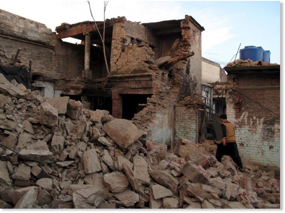 List of earthquakes in Pakistan