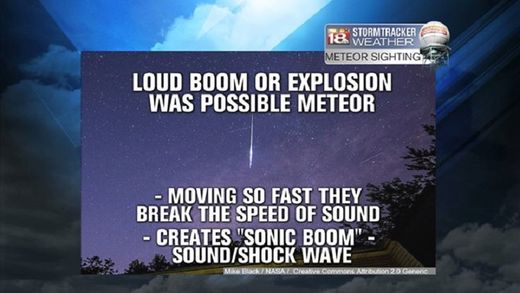 Loud boom heard over Central Kentucky