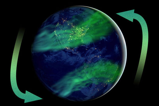 Earth's geomagnetic field intensity is twice the historical average