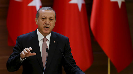 Sniveling little message boy - Did Washington just tell Erdogan to 'man up'?