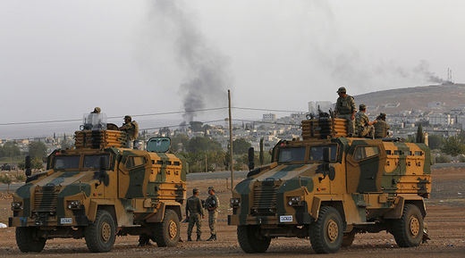 US urging Turkey to close off its Syrian border to ISIS