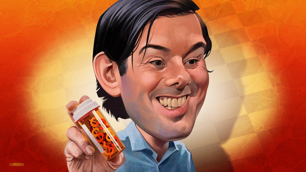 Martin shkreli has been arrested on federal securities fraud charges