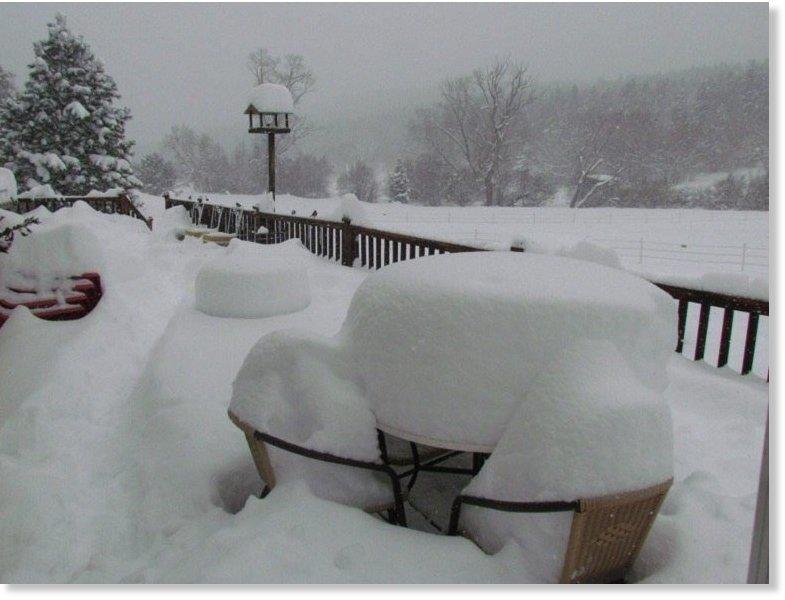 Goliath Winter Storm New Mexic