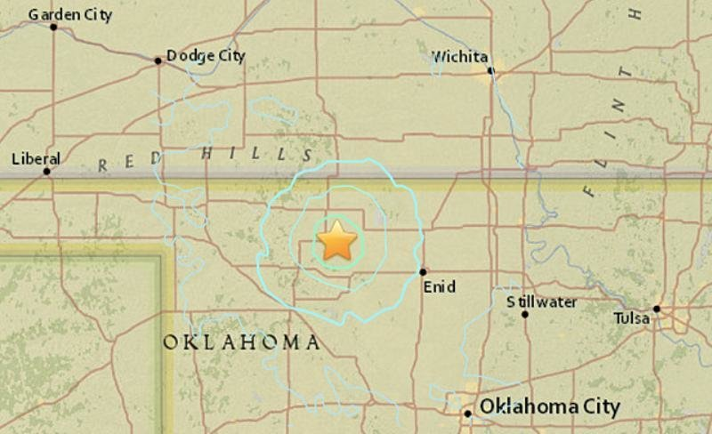Oklahoma Kansas Texas Rattled By Strong Backtoback