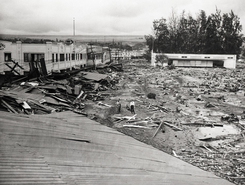 aleutian quake zone could shoot big tsunamis to hawaii