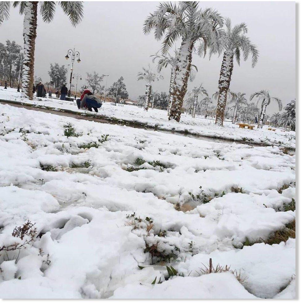 Heavy snowfall for Saudi Arabia (VIDEOS) -- Earth Changes ...
