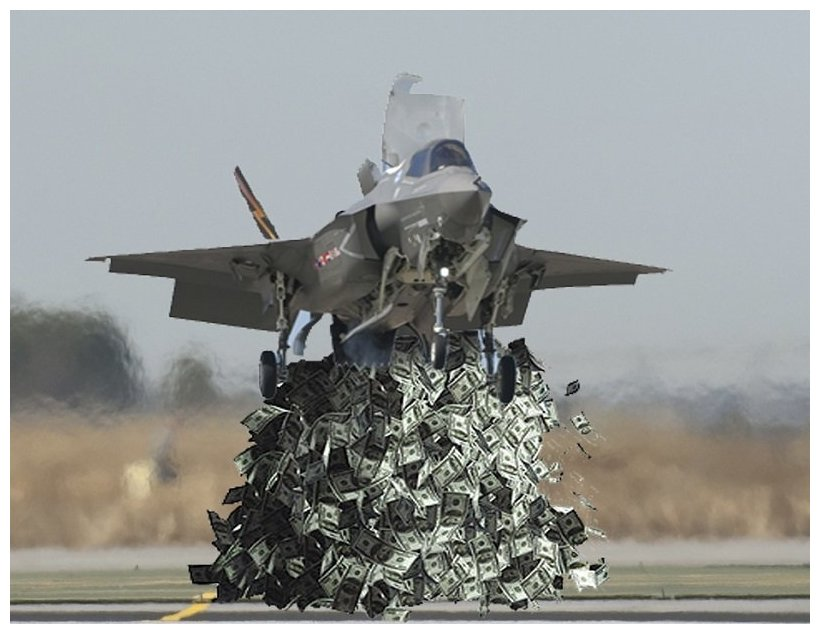 Money Pit Us Plans To Spend More Money On The Fancy F 35