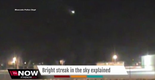 Meteor fireball streaks over skies of southern Wisconsin, US