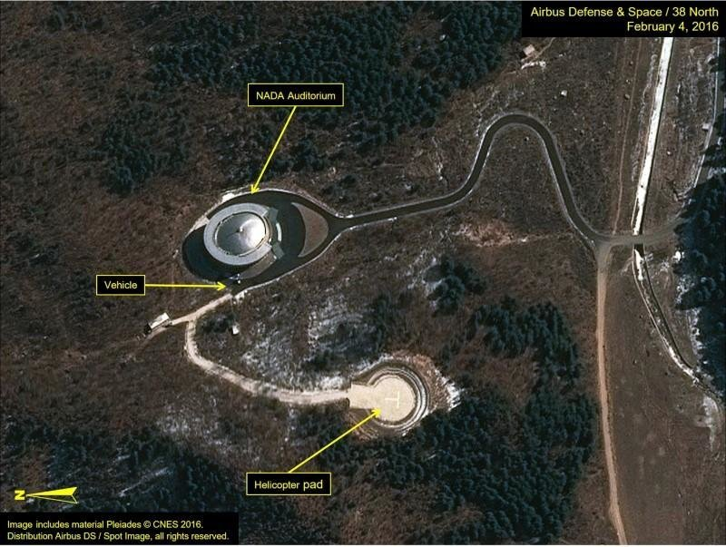North Korea Launches Rocket It Says Carrying Earth Observation - Earth satellite view 2016