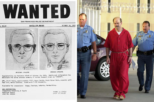 Infamous Zodiac Killer finally unmasked as convicted serial killer