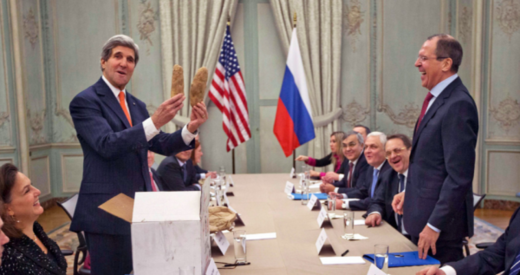 An exasperated John Kerry: 'What do you want me to do, go to war with the Russians?!'