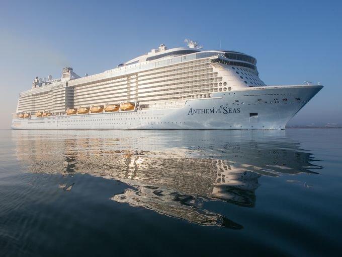Giant Royal Caribbean Ship Damaged In Extreme Storm Will Return - Cruise ship damaged