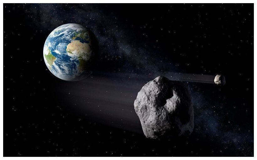 Mini ice age could be unleashed by a medium-sized asteroid ...