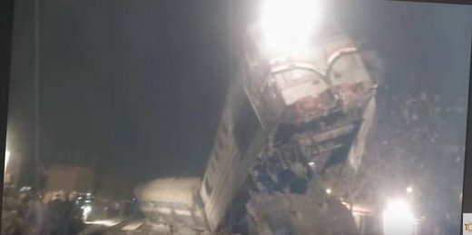 Train derailment in Egypt injures at least 69