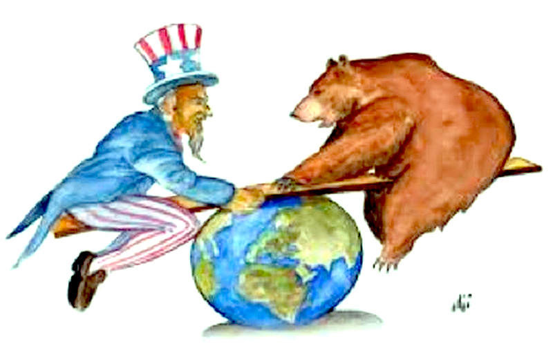 an overview of the relationship between russia and america in the cold war