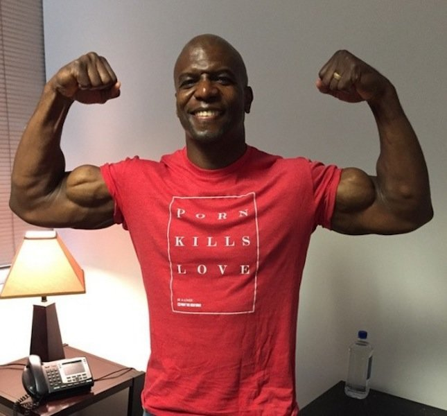 How Terry Crews went from sweeping floors after quitting ... |Terry Crews Nfl