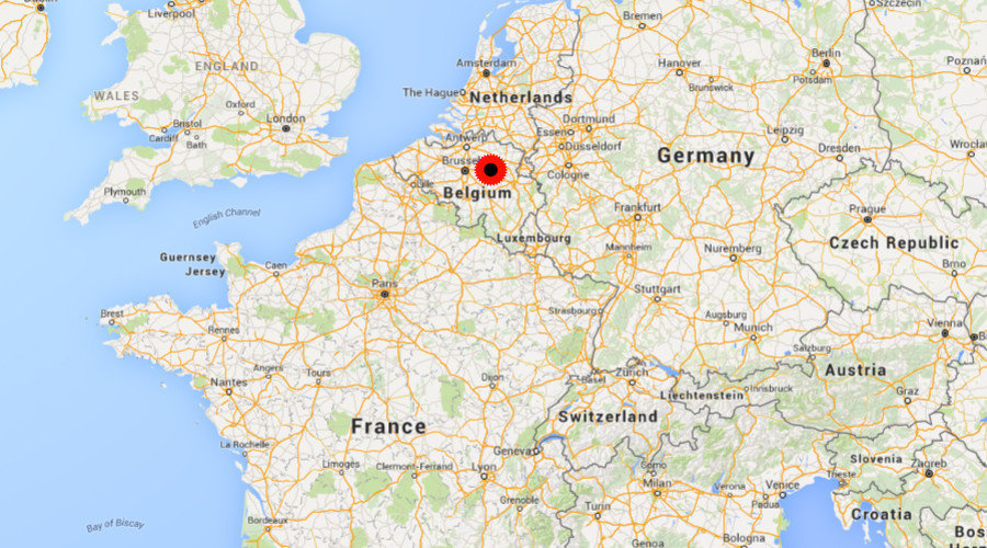 A First Highest Level Terror Alert In Belgium Borders To