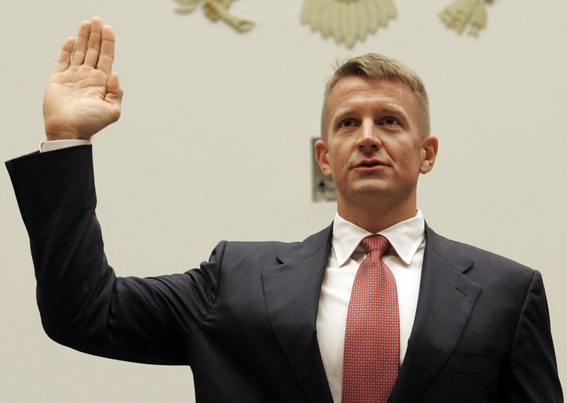 Erik Prince Is An Asshole
