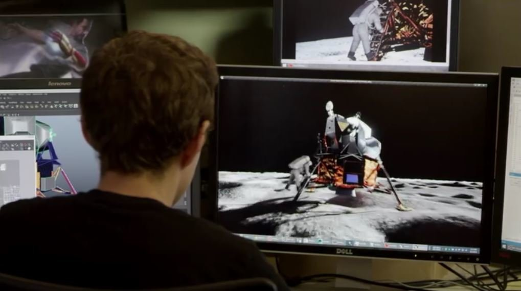 Moon landings faked? New graphics chip sheds light on a 47 ...