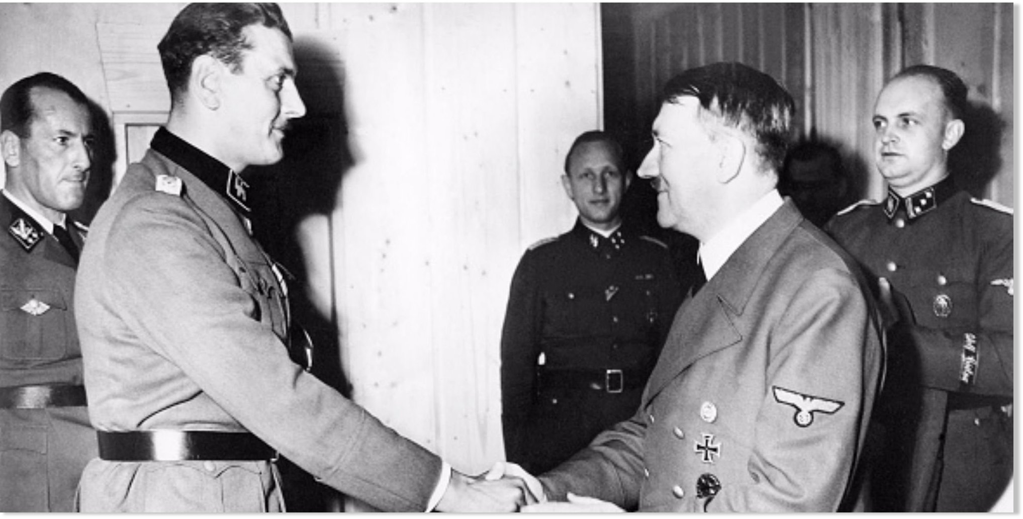 Otto Skorzeny The Nazi SS Commander Who Later Became A