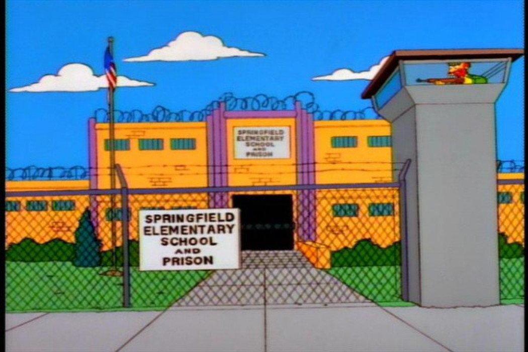 مدرسه - زندان