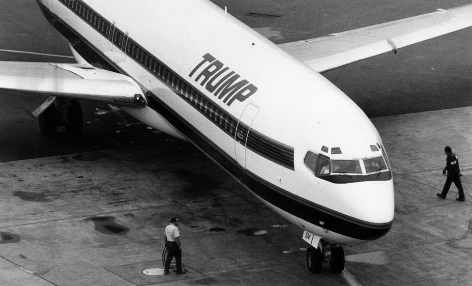 Trump Shuttle Opulence To Crash Landing Secret History