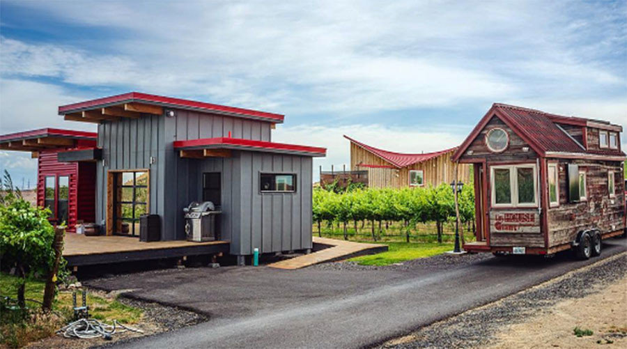 tiny house community. Spur, Texas\u0027 Tiny House Community