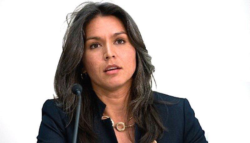 Sane Voice Tulsi Gabbard Leads Fight To Stop Syrian