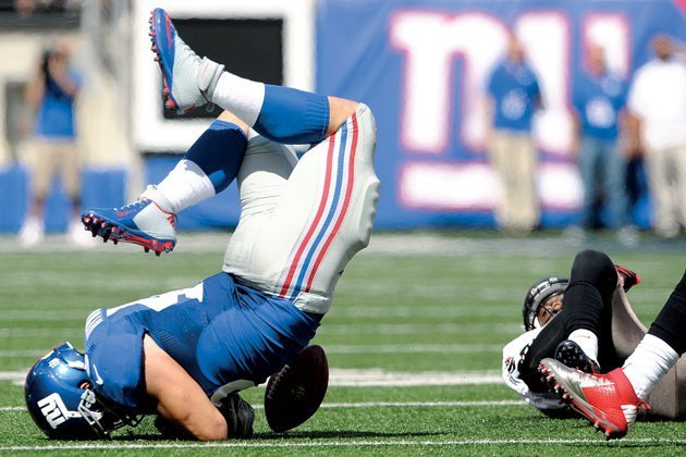 Worst american football injuries