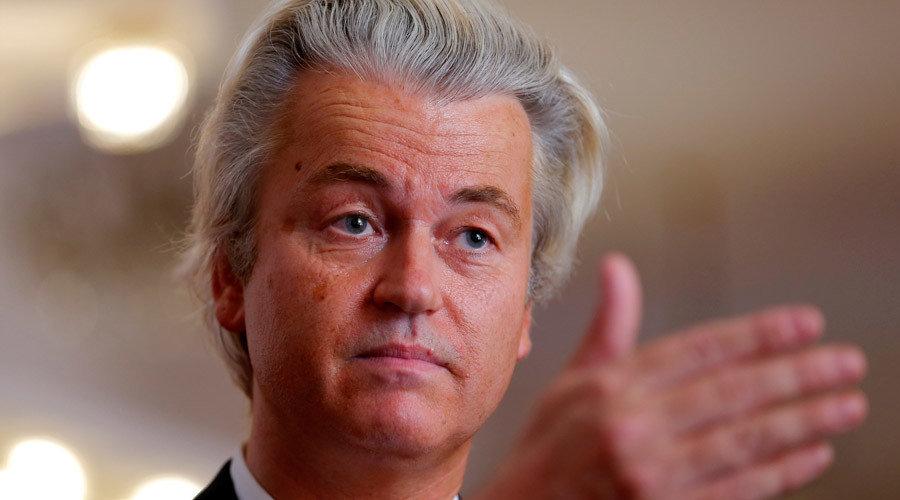 Geert 'Not Quite Right In The Head' Wilders Tops Dutch
