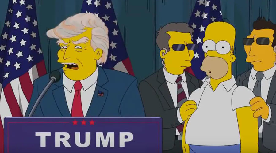 The Simpsons Crystal Ball Trump S Presidential Bid And 6 Other Predictions Conspiracy