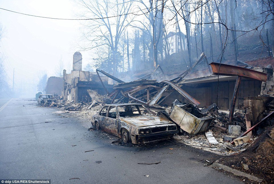 Apocalyptic Scenes Following Devastating Wildfires In Tennessee Photos Videos Earth Changes Sott Net