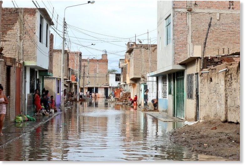 Floods affect 60,000 and destroy 1,800 homes in Lambayeque ...