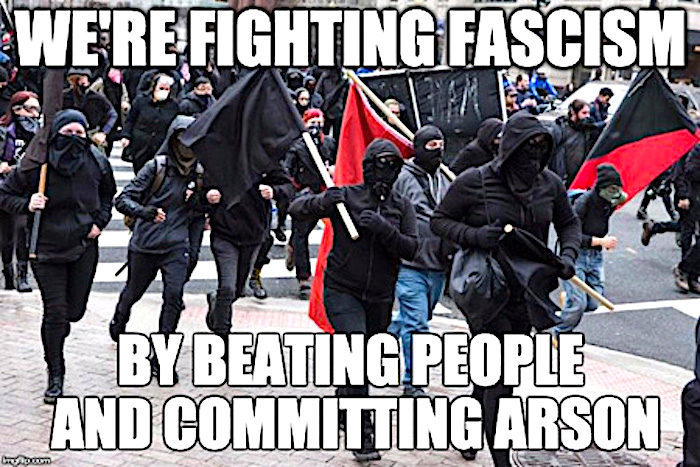 Apologists for left-wing violence: Yahoo News gives Antifa thugs a glowing  endorsement -- Puppet Masters -- Sott.net