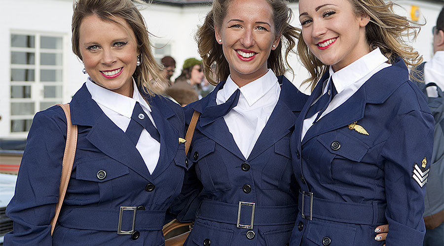 Royal Air Force women banned from wearing skirts on parade ...