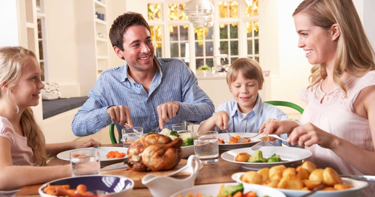 The Important Health Benefits Of Family Meal Time