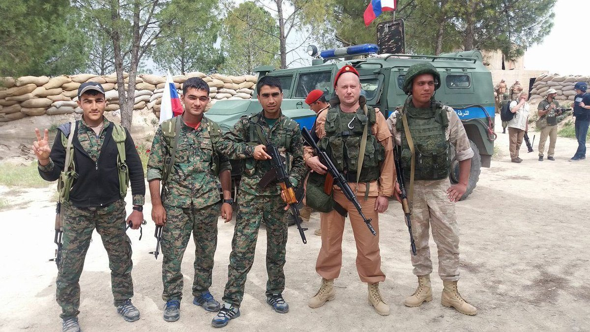 Image result for russian troop afrin
