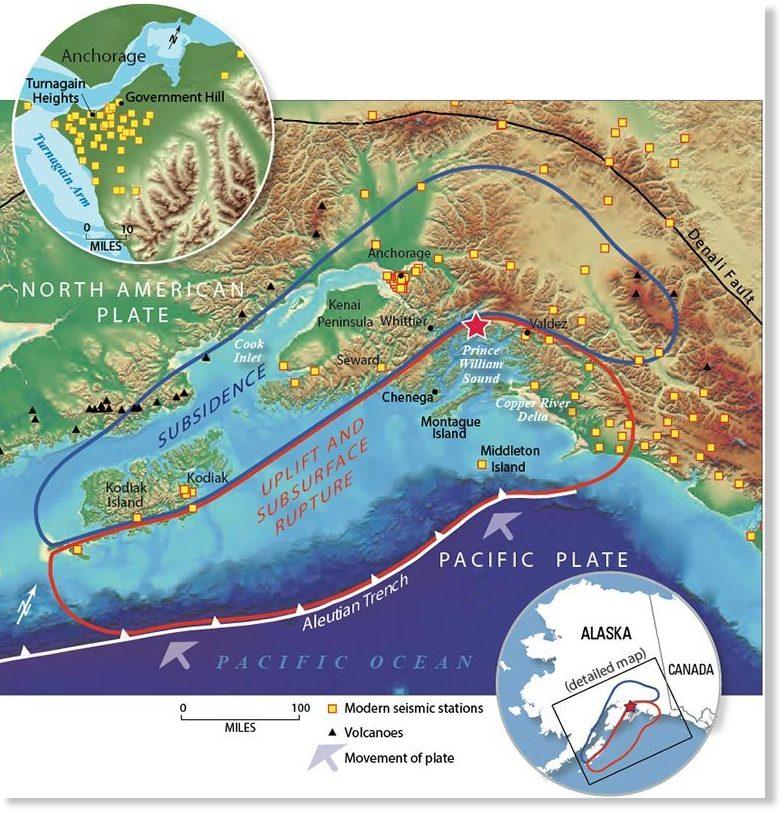 The Great M9 2 Alaska Earthquake And Tsunami Of March 27
