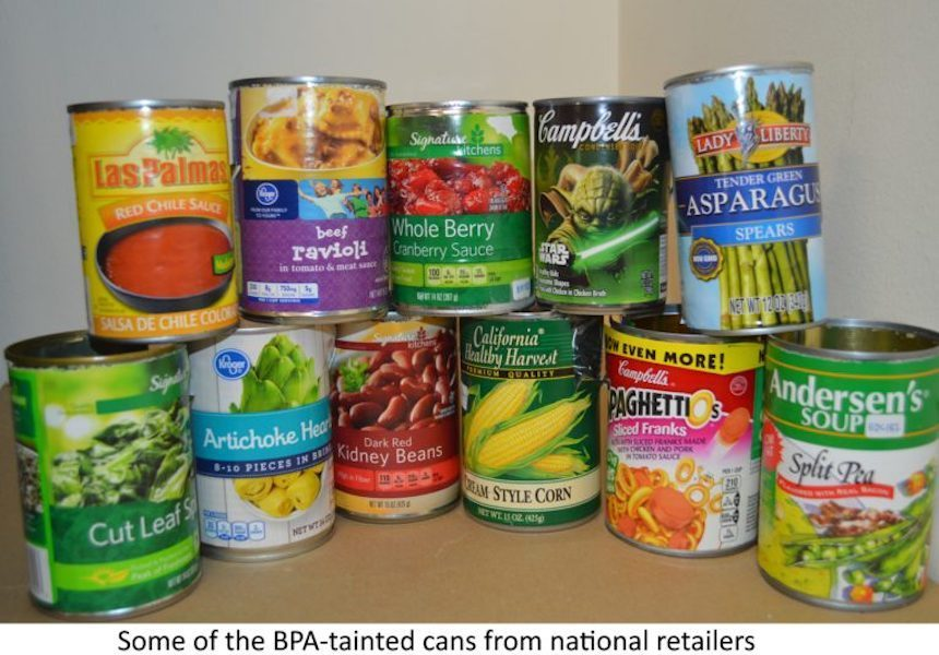 What Is Bpa In Canned Foods