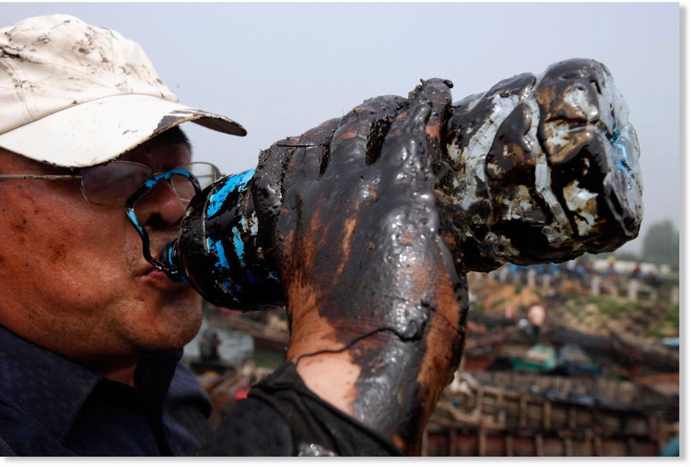 The Day The Water Died Detoxing After The Gulf Oil Spill