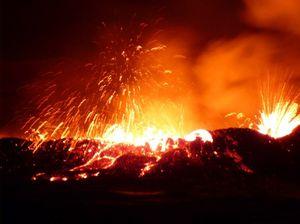 volcano Africa