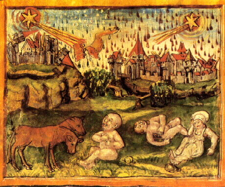 An analysis of the black deaths influence on medieval society