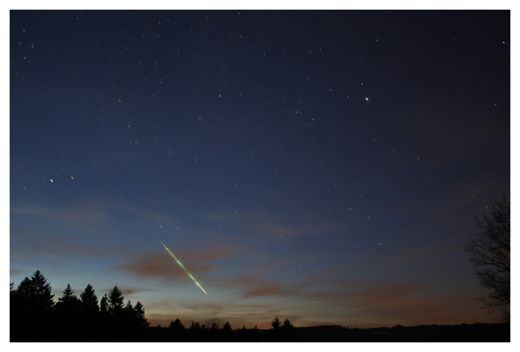 Meteor Over Germany 8/01/11