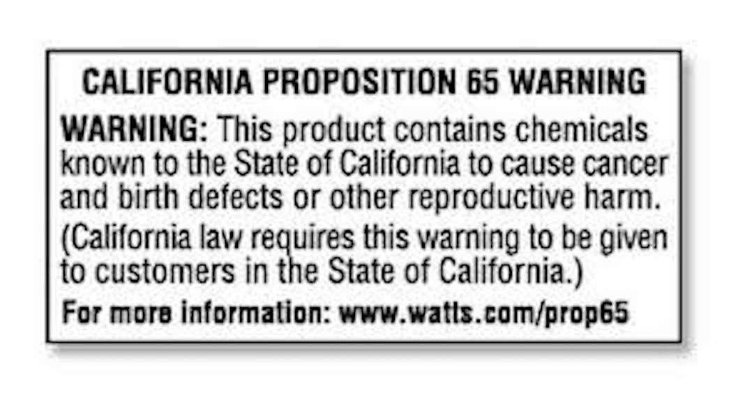 proposition 65 california