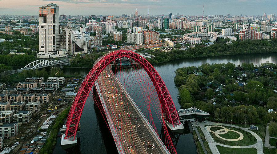 Moscow wins top international prize for futuristic bridge ...