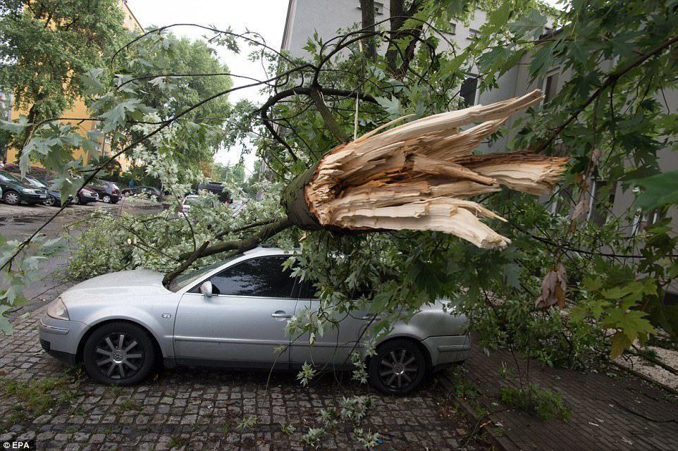 Severe storms hit Europe -- Sott.net