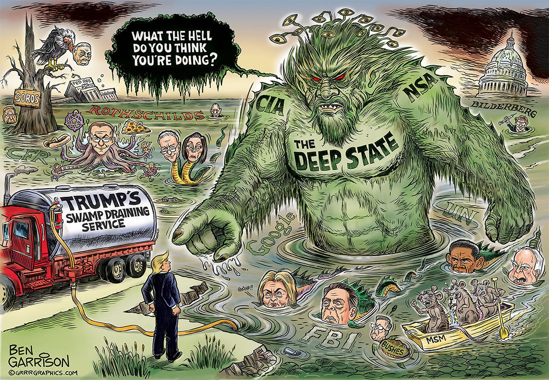 The deep hate of the deep state -- Sott.net