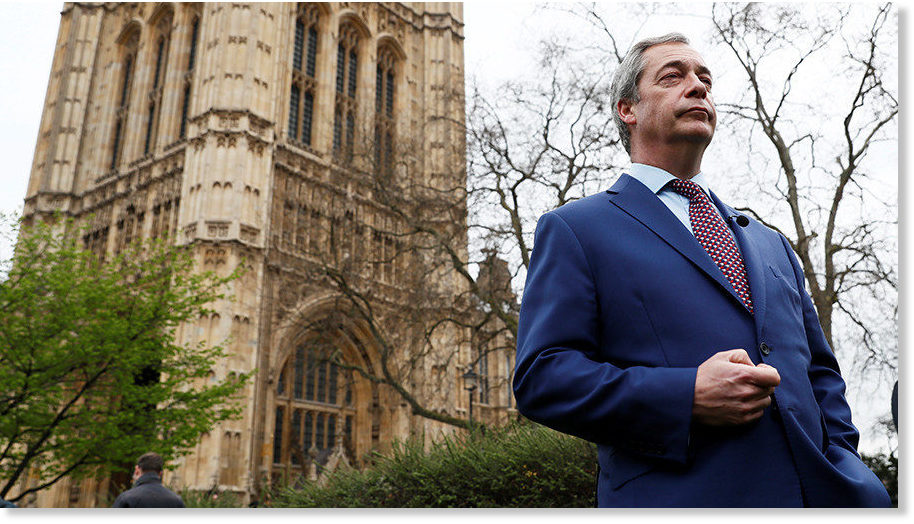 Nigel Farage calls for Soros' Open Society to be investigated over political collusion and subversion -- Sott.net